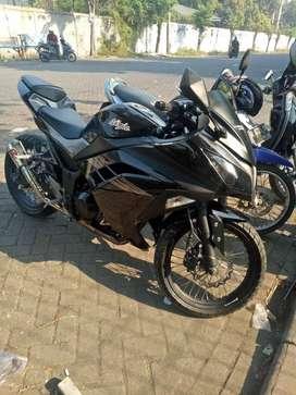 Kawasaki Ninja 250 FI  Black Grey Limited ( Istimewa )