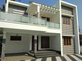 7 cent 2100 sqft 4 bhk new build house at paravur town near peruvaram