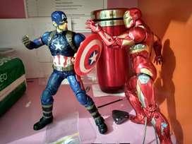 AF Iron man dan Captain America
