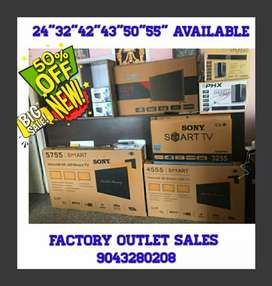 """BRAND NEW SONY IMPORTED LED TV 24""""-55"""" AVAILABLE 1 YEAR WARRANTY GIFTS"""