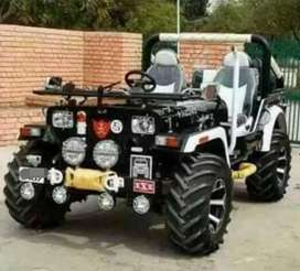 Modified new stylish jeep