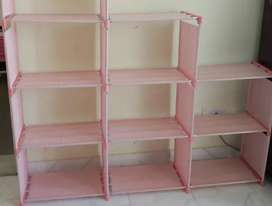 Metal Open Bookshelf for home and office( Brand New- Not Used)
