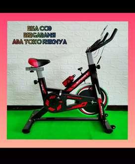 alat fitnes sepeda statis spining bike life sports bergaransi