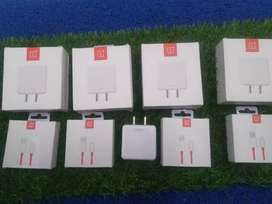 Oneplus dash charger and cables original box seal pack