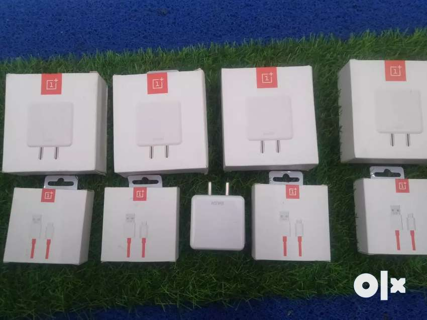 Oneplus dash charger and cables original box seal pack 0