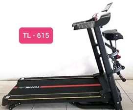 Sports fitness:Alat fitness Treadmill TL 615 motor 1,5hp