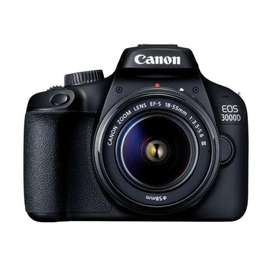 CAMERA CANON 3000D kit 18-55 is