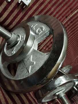 Gym Weights for sale in 10/10 condition