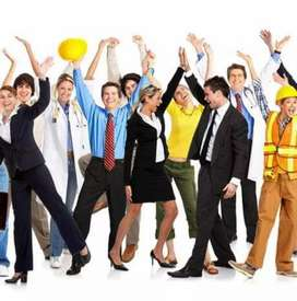 Male staff Required for different department