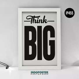 IP455 Poster Motivasi Kantor Office 45x30cm