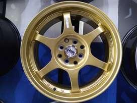 Ready Stock Velg Mobil Mobilio, Xenia dll R16 HSR Wheel YUZAWA