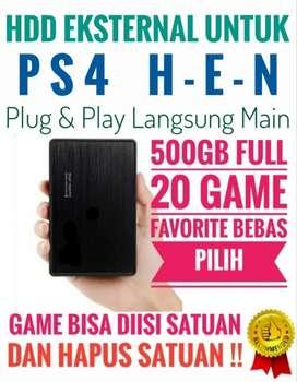 HDD 500GB Full 20 Game PS4 Favorite Mantap Murah Meriah Bebas Pilih