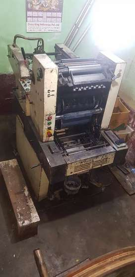 Offset printing machin