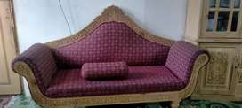 Sofa for sale. Made in wood