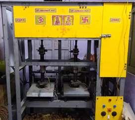 दोना बनाने वाली डबल dayi मशीन