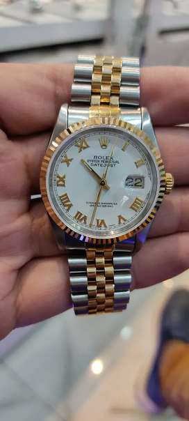Original Rolex datejust two-tone authentic watch available