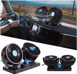 Kipas Angin Mobil 360 Degress Double Headed Fan