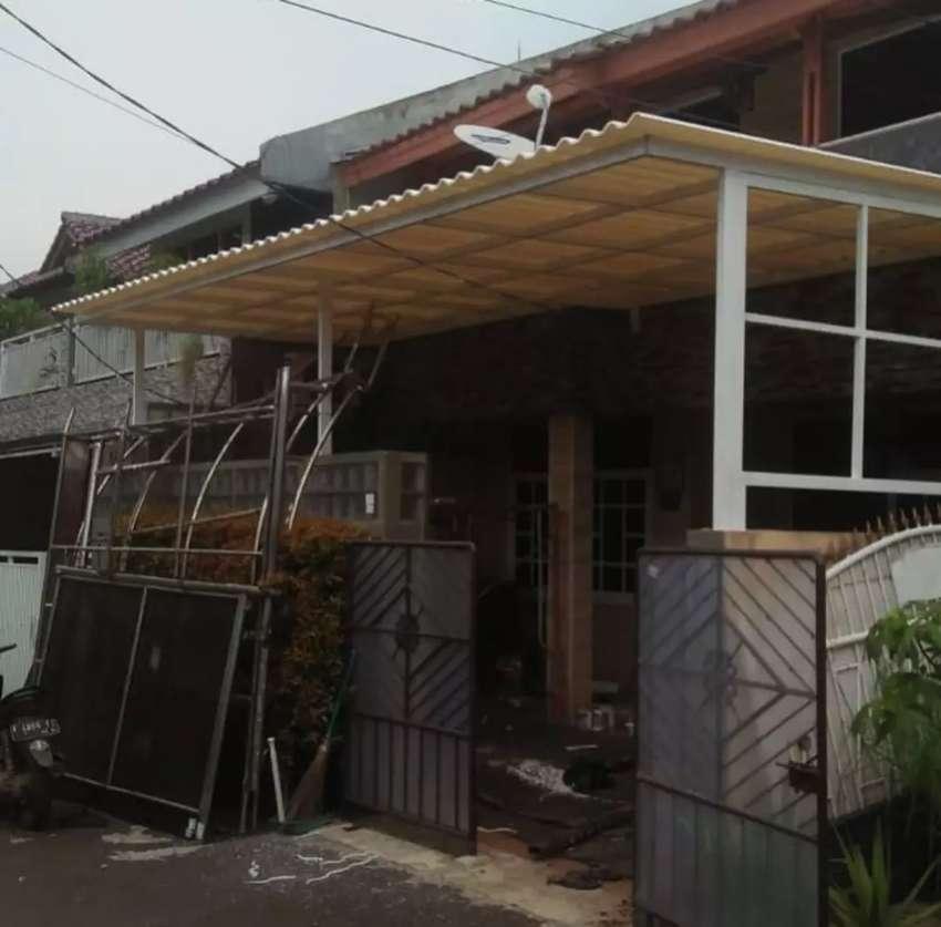 Menerima pesanan canopy atap alderon,spandek dan pollycarbonate aa262 0