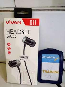 headset bass vivan q11