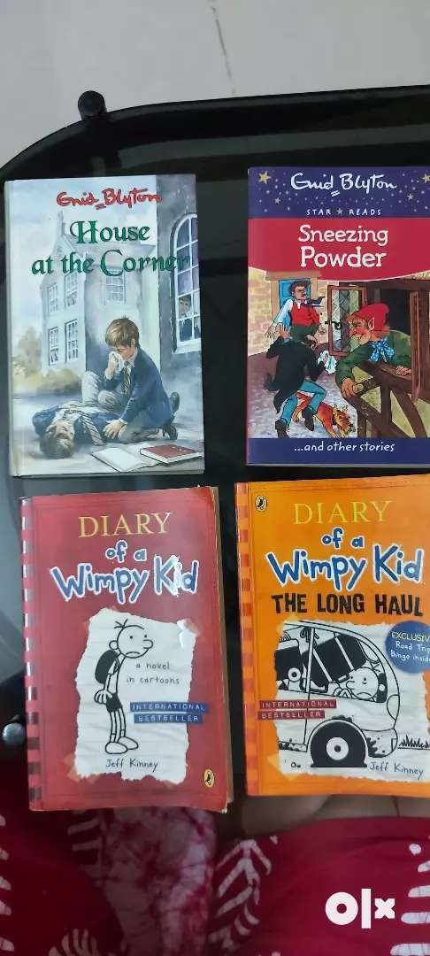 Wimpy Kids Books 0