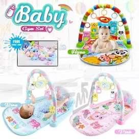 Baby gym play set