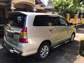 Innova diesel matic tahun 2014 nik 2013 asli barong double airbag