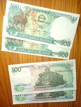 Uang Kertas lama / kuno 500
