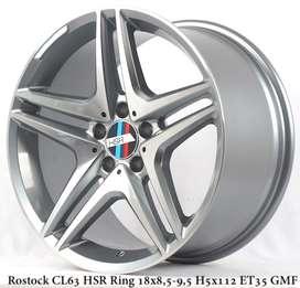 velg mobil mercy ROSTOCK CL63 L329 HSR R18X85/95 H5X112 ET35 GMF