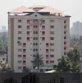 1600 sq ft semi furnished 3 bed 3 bath 2 balconies flat at Kaloor