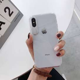 Clear Case AUTO FOCUS CRYSTAL for iPhone X/Xs super Mewah