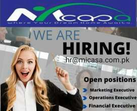 Female Marketing executive