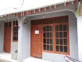 Di jual rumah kontrakan 3 petak di Pitara Pancoran Mas Depok