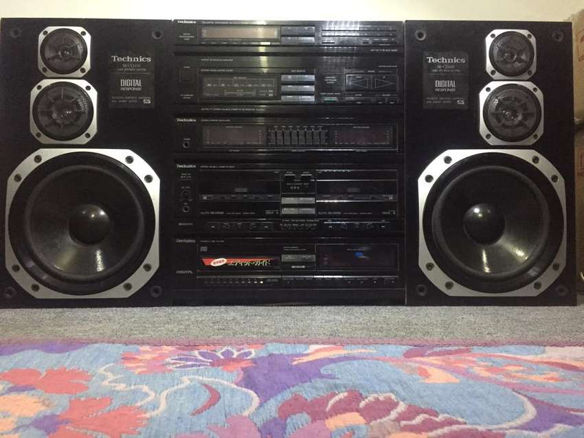 Technics Deck Amplifier SA-X930 Speakers SB-CD450 0
