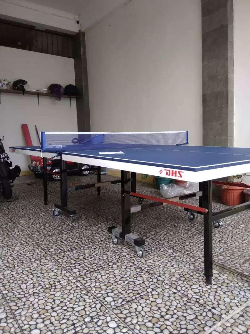 Tenis meja pingpong DHS kaki besar 0