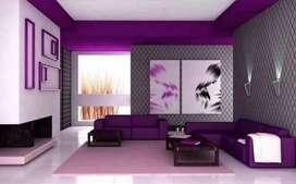 Wallpaper, wallpaper dinding, pasang wallpaper, wallpaper 3D gorden #9