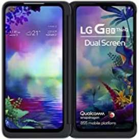 Lg g8x dual screen with original bill box warranty