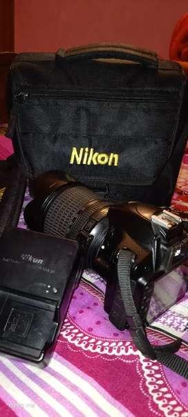 NIKON DSLR CAMERA 3200D FULL KIT BIG SINGLE LENS 18 TO 105 MM