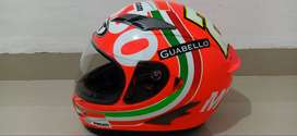 Helm KYT Vendetta 2 Andrea Iannone Mugello Orange Vendeta Full Visor
