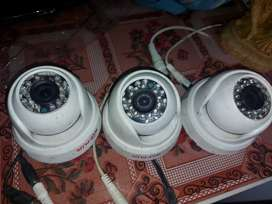 6 CPplus cctv set with HDD, DVR and SMPS