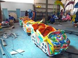 ERV 4 mainan usaha kereta mini panggung kincir komedi