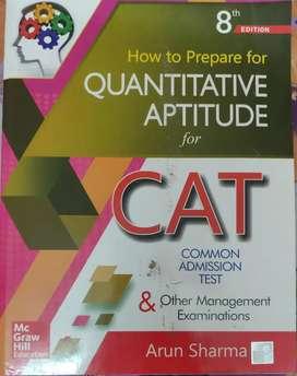 MBA - CAT PREPARATION BOOKS BY ARUN SHARMA ( NEW BOOKS )