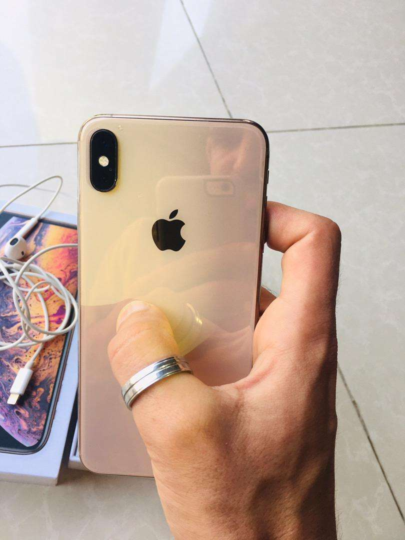 Iphone xsmax 256gb dual physical sim approved