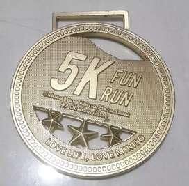 Koleksi medali antik 5K FUN RUN 2019