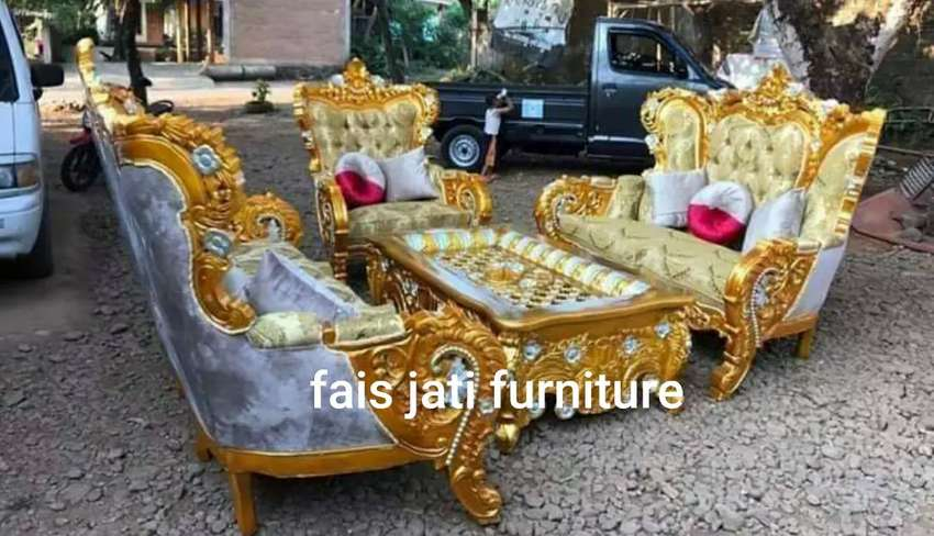 Jual set sofa tamu bellagio. Rangka ready stock 0