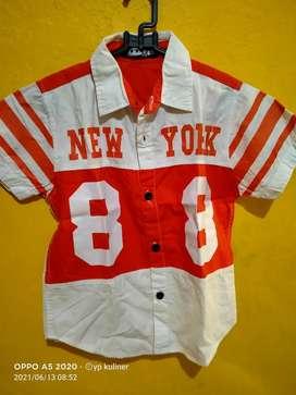 Baju anak New york bermerek.no4