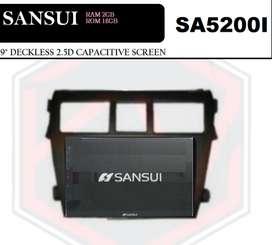 audio kikim-  SANSUI 9IN RAM2GB ROM16GB TANPA SIMCARD VIOS 2008