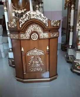 mimbar masjid dan musola jati