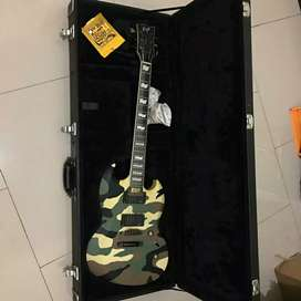 JuaL Gitar ESP Green Camo