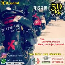 Sewa Motor di Bali X rental
