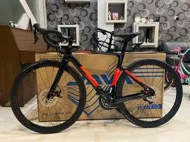 Roadbike Java Vesuvio Shimano 105 TB 160 - 175 cm